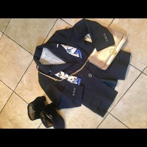 CABI navy size 4 blazer